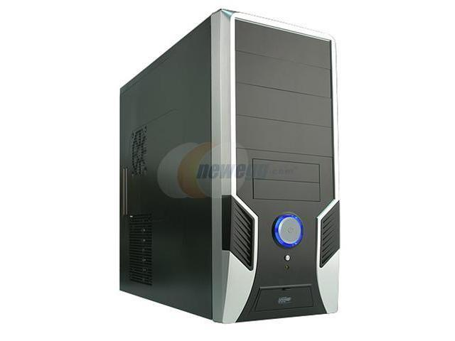 Rosewill R6423-P SL Silver SGCC Steel ATX Mid Tower Computer Case