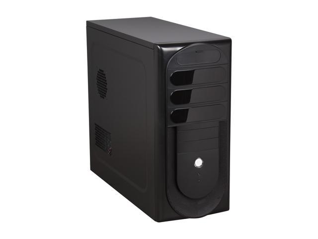 Rosewill R230-P-BK Black SECC Steel ATX Mid Tower Computer Case