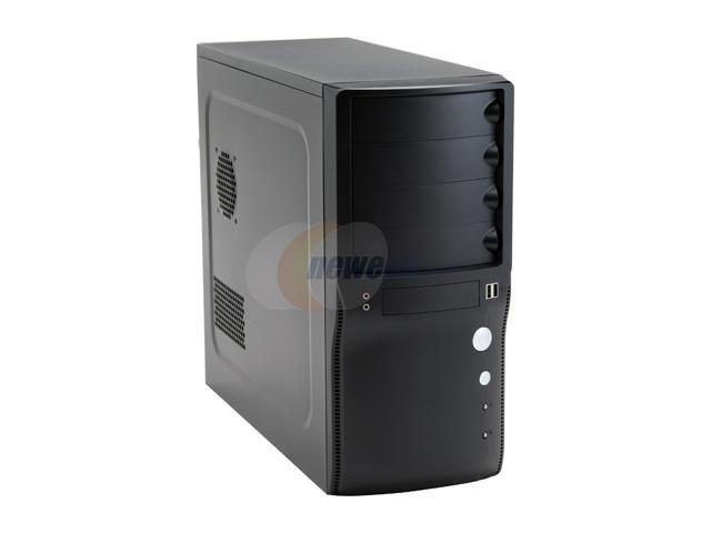 Rosewill R222-P-BK Black Steel ATX Mid Tower Computer Case