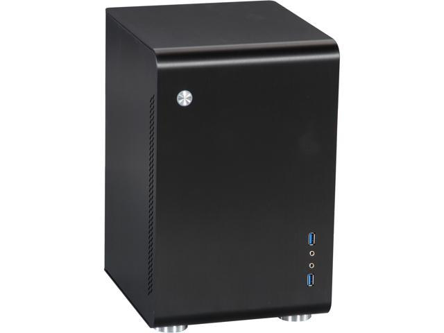 Rosewill Tower Computer Case - Legacy U2-B - Mini ITX, Aluminum Alloy, Black