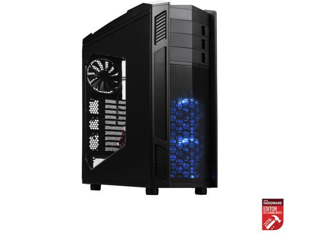 CASE ROSEWILL NIGHTHAWK 117 ATX Full Tower Gaming Computer Case, Supports up to 420mm Long VGA Card, 5 Fans Pre-installed, Fan Speed Control