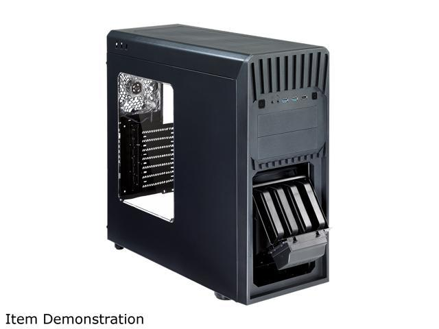 Rosewill ATX Mid Tower Gaming Case with Front Hot-Swap HDD Cage - HIMARS