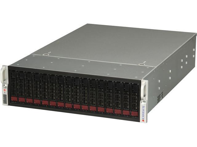 SUPERMICRO SuperChassis CSE-936E26-R1200B Black 3U Rackmount Server Case
