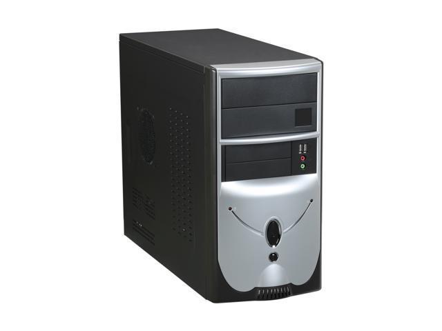 Foxconn 436+ISO400 Black / Silver Computer Case