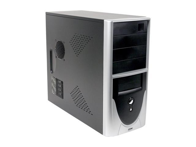 APEX PC-319 2-Tone Steel ATX Mid Tower Computer Case 300W Power Supply