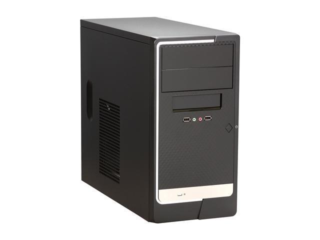APEX TM-524 Black Metal / ABS Micro ATX Tower Computer Case