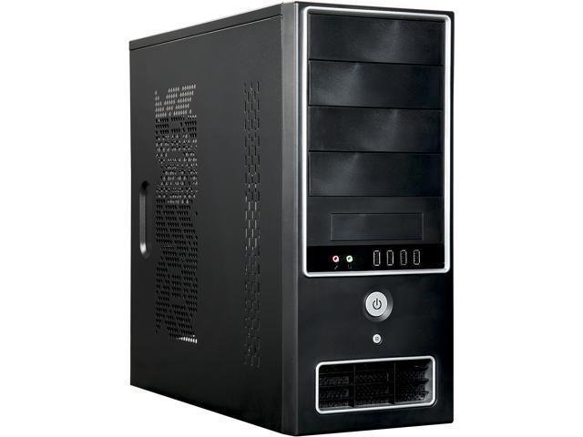 APEX SK-386-C Black ATX Mid Tower Computer Case