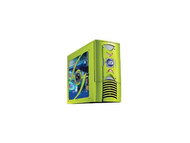 RAIDMAX Scorpio ATX-868WGP Green Steel ATX Mid Tower Computer Case 420W Power Supply