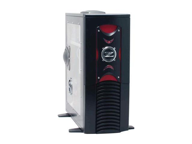RAIDMAX Scoprio 668WBP Black 1mm Brushed Aluminum Gaming Case Computer Case 420watts PS2 ATX12V Power Supply