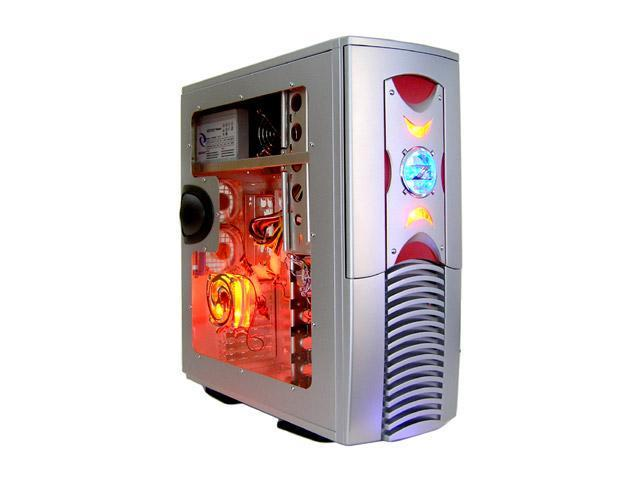 RAIDMAX Scoprio 668WSP Silver 1mm Brushed Aluminum Gaming Case Computer Case 420watts PS2 ATX12V Power Supply
