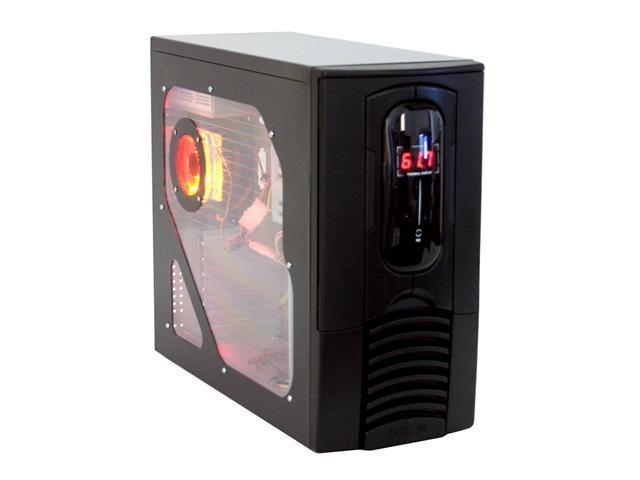 RAIDMAX Virgo ATX-811WBP Black SECC Steel ATX Mid Tower Computer Case 420watts PS2 ATX12V Power Power Supply