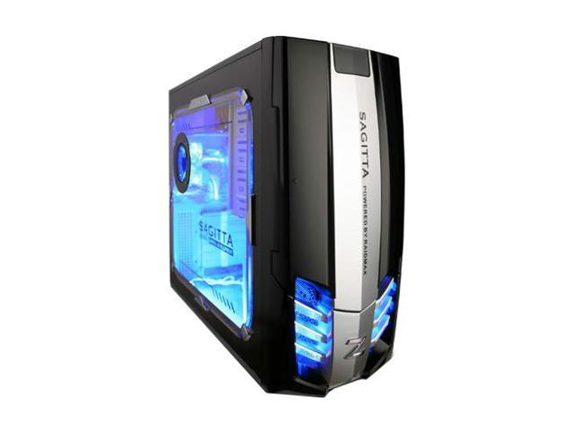 RAIDMAX SAGITTA 1 ATX-921WBP Black/Silver Removable MB Computer Case