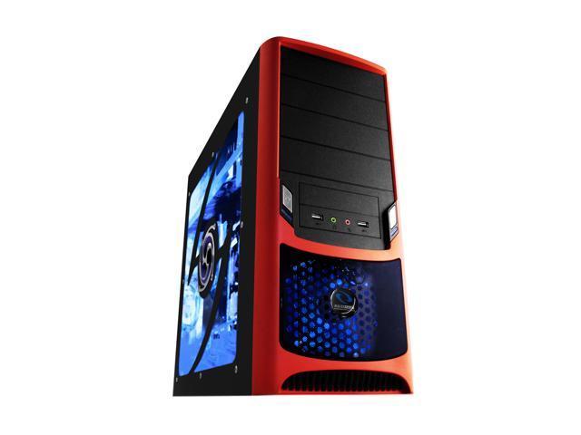 RAIDMAX Tornado ATX-238WR Black/Red Computer Case