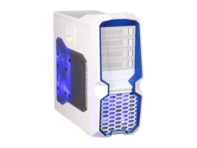 RAIDMAX Blackstorm ATX-615WW White Steel / Plastic ATX Mid Tower Computer Case