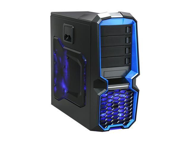 RAIDMAX Blackstorm ATX-615WU Black Steel / Plastic ATX Mid Tower Computer Case