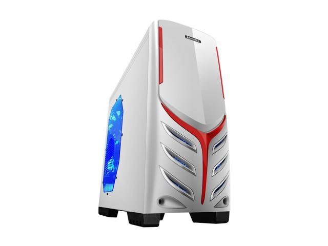 RAIDMAX Viper ATX-321WW White Steel / Plastic ATX Mid Tower Computer Case