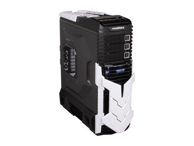 RAIDMAX AGUSTA ATX-605BW Black/White Steel ATX Full Tower Computer Case