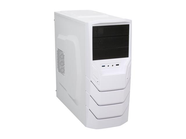 RAIDMAX Sting Ray ATX-249WW White Steel / Plastic ATX Mid Tower Computer Case
