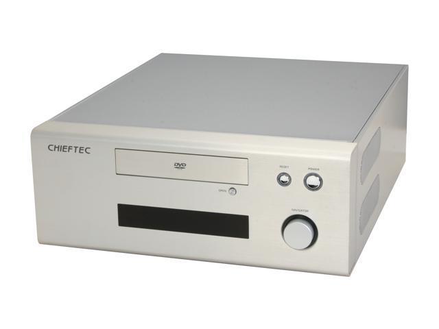 CHIEFTEC Silver HIFI HT-01SL Micro ATX Media Center / HTPC Case
