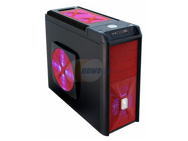 CHIEFTEC Dragon CH07B-R-OP Red Computer Case