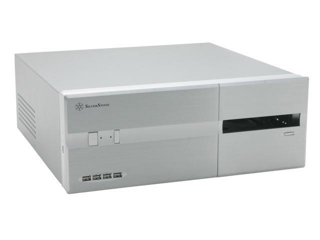 SilverStone Lascala Series LC10-S Silver Computer Case