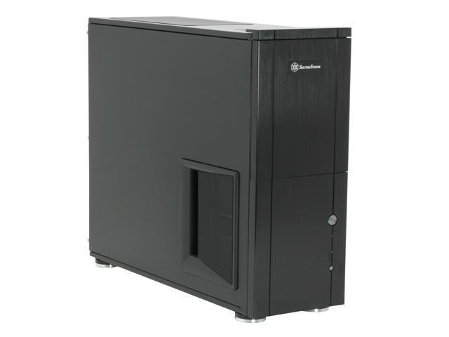 SilverStone Temjin Series SST-TJ10B-USB3.0 Black Aluminum ATX Full Tower Computer Case