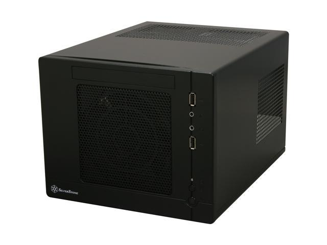 SilverStone Sugo SG05-B Black SECC / Plastic Mini-ITX Desktop Computer Case SFX 300W 80Plus Power Supply