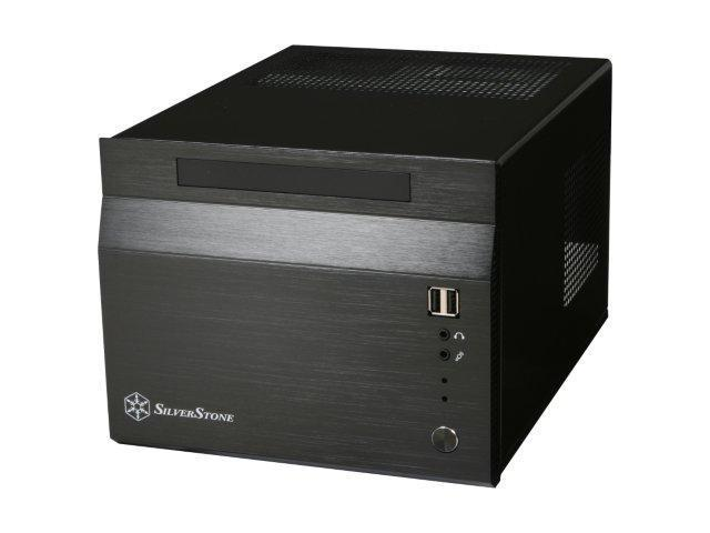 SilverStone Sugo Series SG06-B Black Aluminum/SECC Mini-ITX Desktop Computer Case SFX 300W with 80 PLUS certification Power Supply
