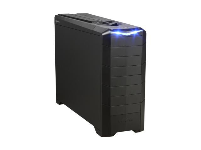 SilverStone RAVEN RV02-BW Matte black 0.8mm Steel ATX Full Tower Computer Case