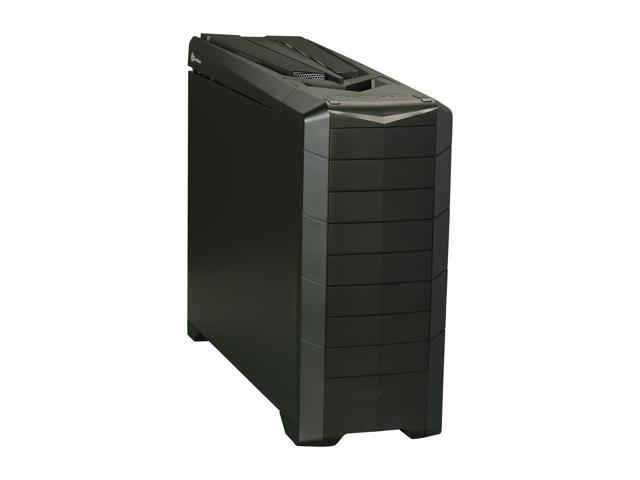 SilverStone RAVEN RV02B-EW-USB3.0 Matte black reinforced plastic outer shell, 0.8mm Steel body ATX Full Tower Computer Case with Window Side Panel with 2X USB3.0 ports