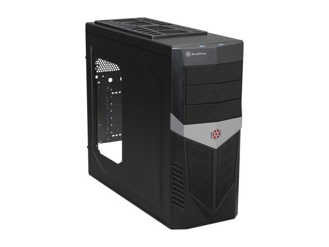 SilverStone Redline series RL03B-W-USB 3.0 Black Steel / Plastic ATX Mid Tower Computer Case