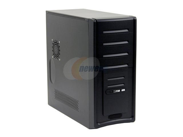 Linkworld 3230-02C2222U Black Steel ATX Mid Tower Computer Case 430W Power Supply