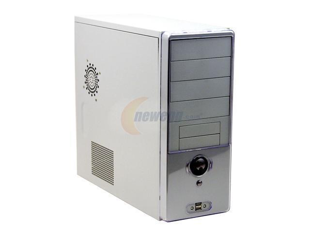 Linkworld 3166-04C6063U Beige Steel ATX Mid Tower Computer Case 430W Power Supply