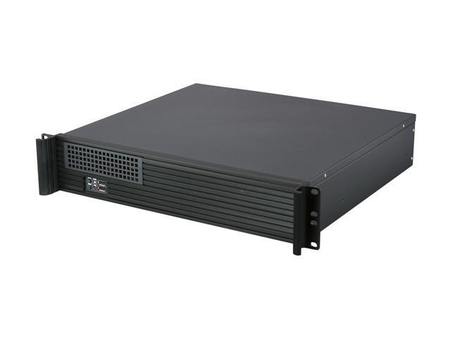 "iStarUSA D213MATX-75 2U Rackmount 15"" Compact Server Chassis - OEM"