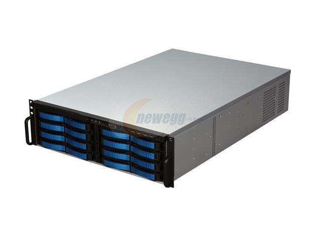iStarUSA V3M16SA-60 3U Rackmount Server Chassis - OEM