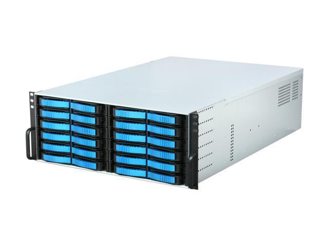 iStarUSA V4M24SA-18R4H 4U Rackmount Server Chassis - OEM