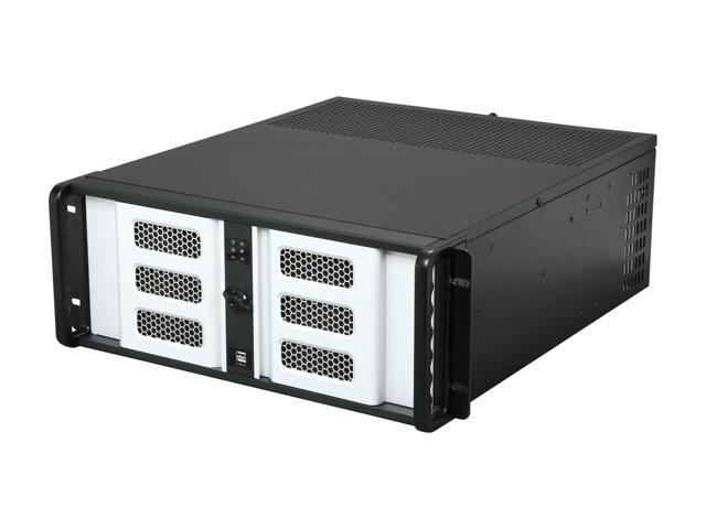 iStarUSA D400-6SE-SL 4U Rackmount Compact Stylish Server Chassis - OEM