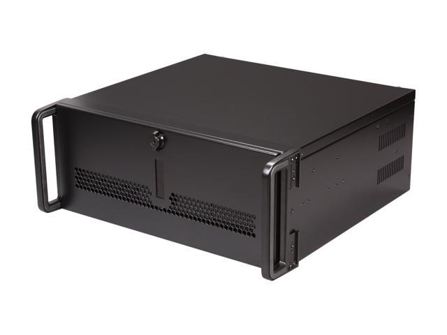 iStarUSA E-40-40P8 Black Steel 4U Rackmount Rugged 15