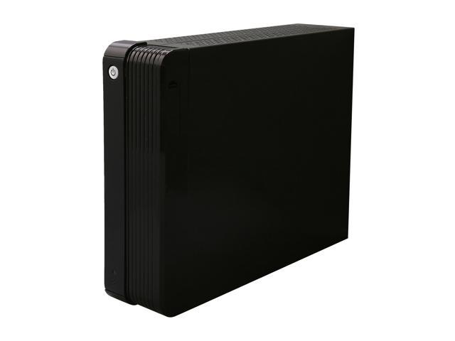 iStarUSA S-0312-DT Black Steel / Plastic Desktop Compact Stylish Mini-ITX Enclosure with 120W PSU and Desktop Stand