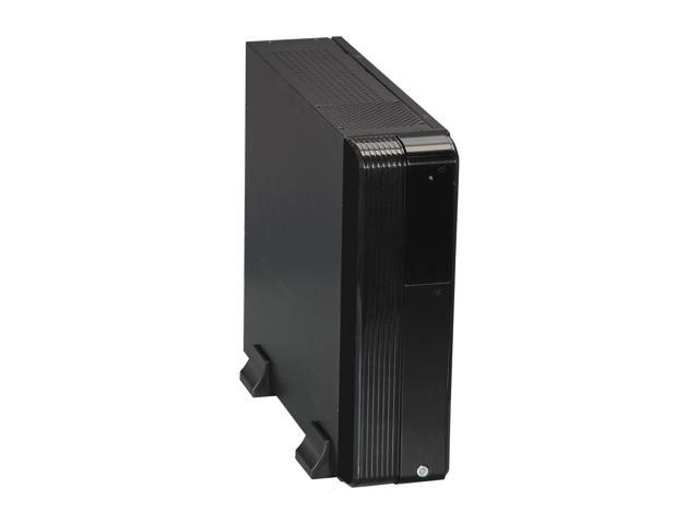 iStarUSA S-0430-DT-DERD Black Tower Compact Stylish Micro-ATX Enclosure - Red HDD Handle