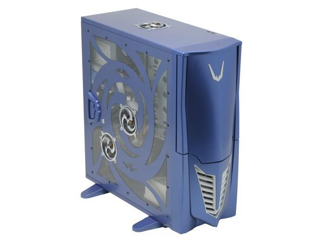 Sunbeam Transformer IC-TR-US-BL Blue Steel ATX Full Tower Computer Case 450W Power Supply