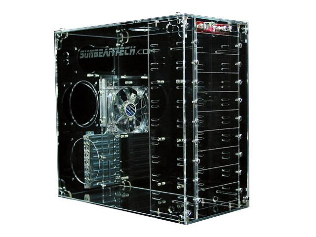 Sunbeam AC9B-T Transparent Computer Case
