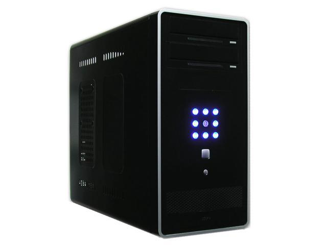 AMS CF-1089BK Black Computer Case