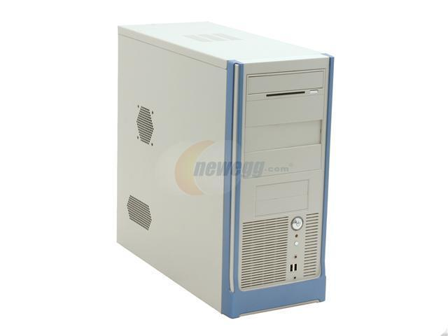 CODEGEN C-6079-8-PW1 White/Blue Computer Case