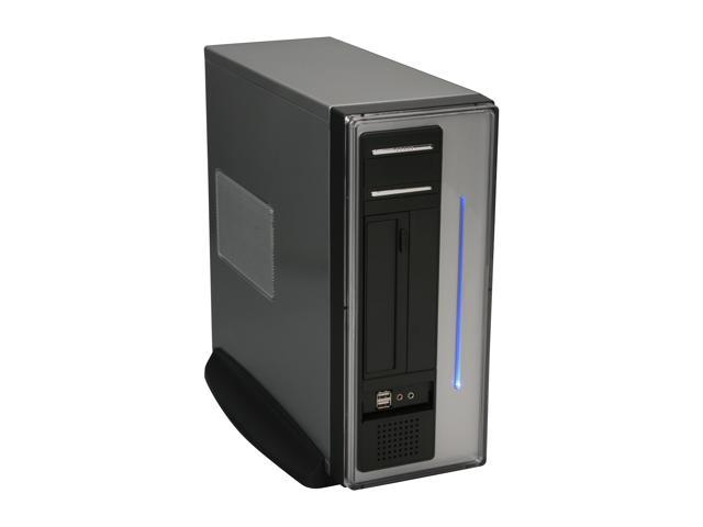 Athenatech A100SC.200 Black/ Silver Steel MicroATX Desktop Computer Case 200W Power Supply