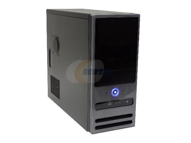 Athenatech A416BS.H350 Black Steel ATX Mid Tower Computer Case 350W Power Supply