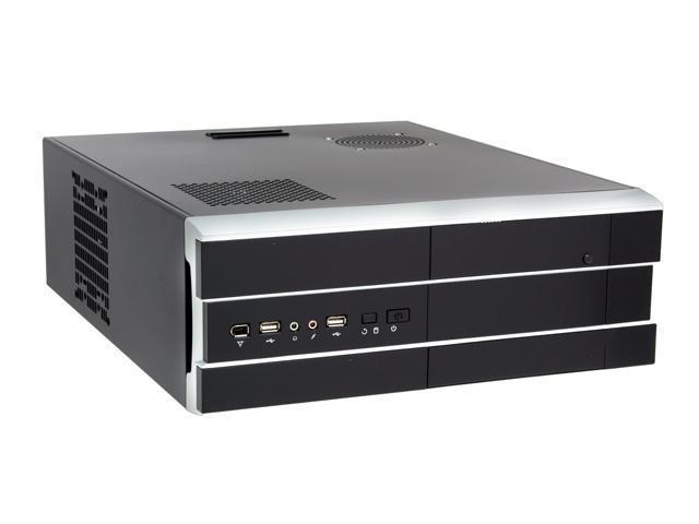 Athenatech Black SECC Steel A3708BS.450 ATX Media Center / HTPC Case