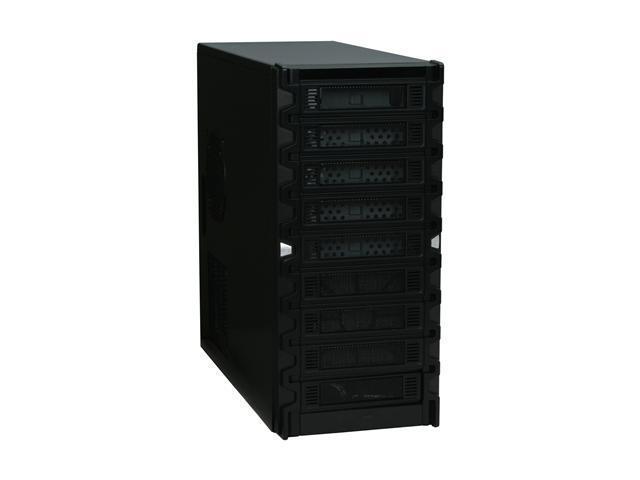 Athenatech A901BBS Black SECC Steel ATX Mid Tower Computer Case