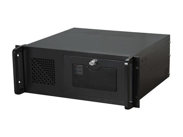 Athena Power RM-4U4034S48 Black 4U Rackmount Server Case