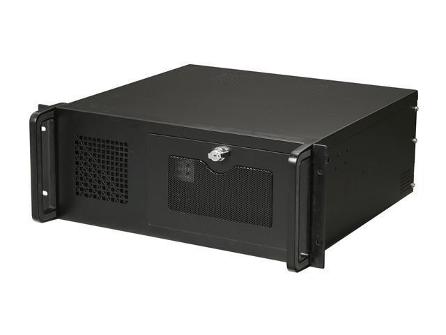 Athena Power RM-4U4034S60 Black 4U Rackmount Server Case